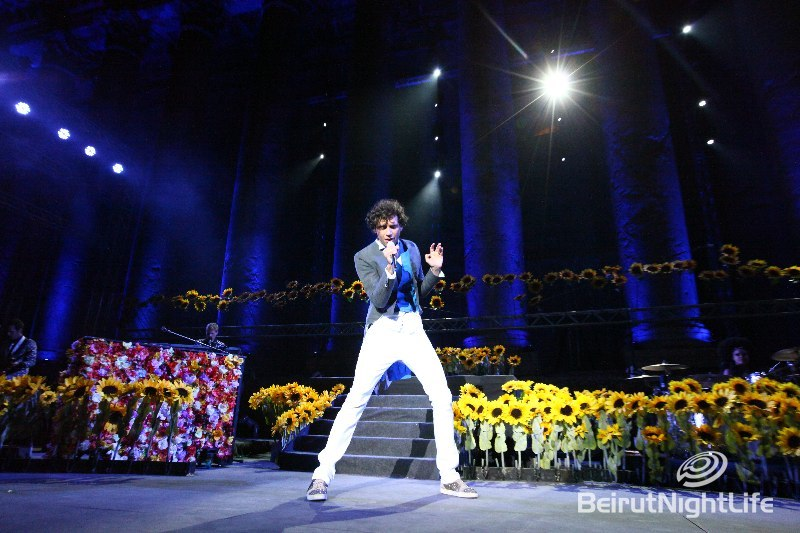 Mika an Amazing Opening for Baalbeck International Festival 2010