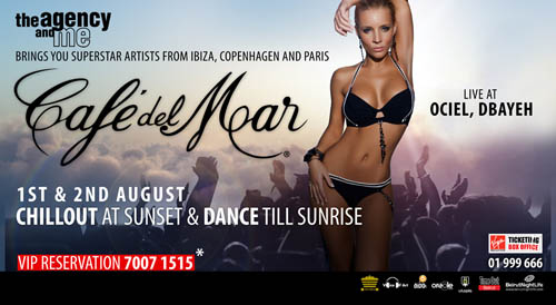 Café Del Mar Makes Live Debut in this Summer