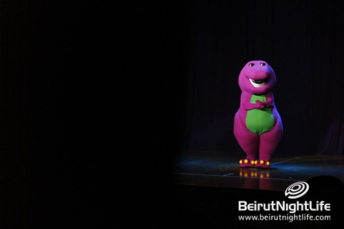 Barney Let's Imagine: The biggest Children live show Lebanon