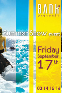 Summer Snow Event at Bank Batroun