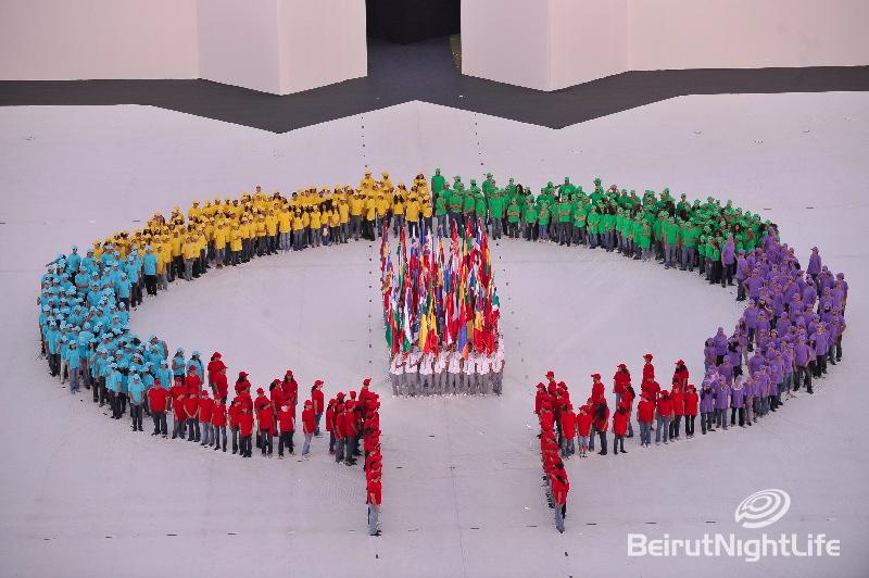 Francophonie Games in Lebanon Opening2