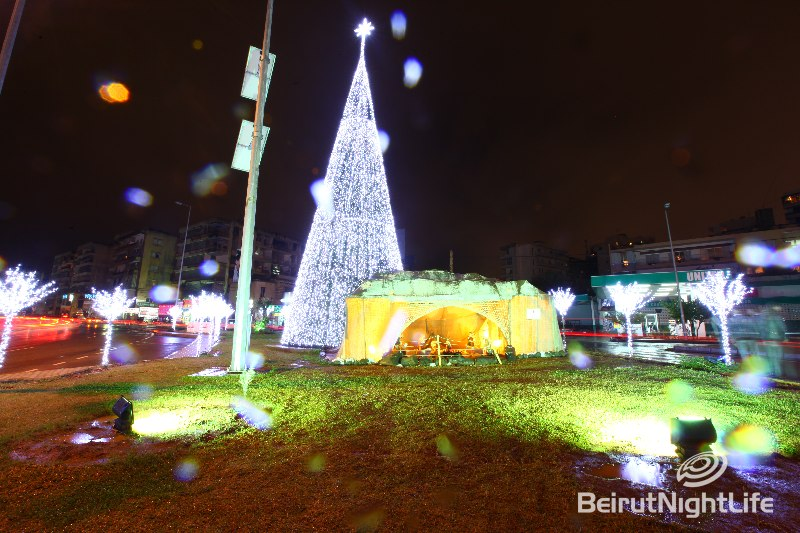 Christmas Around Lebanon 2009 Part2