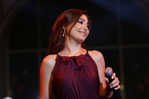 Yara shines Beirut skies with Ragheb Alameh