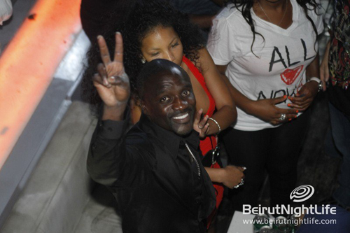 Akon After Party at Beiruf