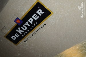 "De kuyper Liqueur's diner party on the occasion of launching two new flavors:""De Kuyper Mango"" and ""De Kuyper Sour Grapefruit."""