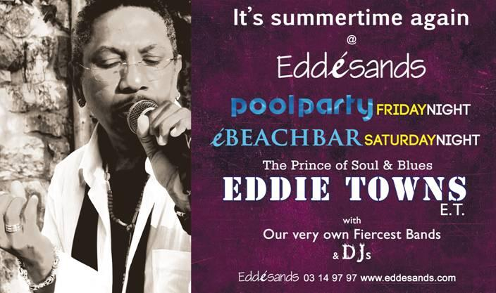 It's summertime again at Eddé Sands
