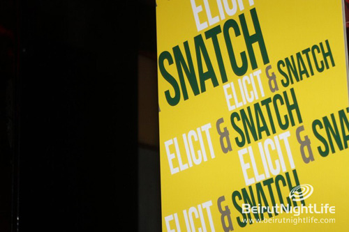Elicit & Snatch ft. Chamz at The Basement