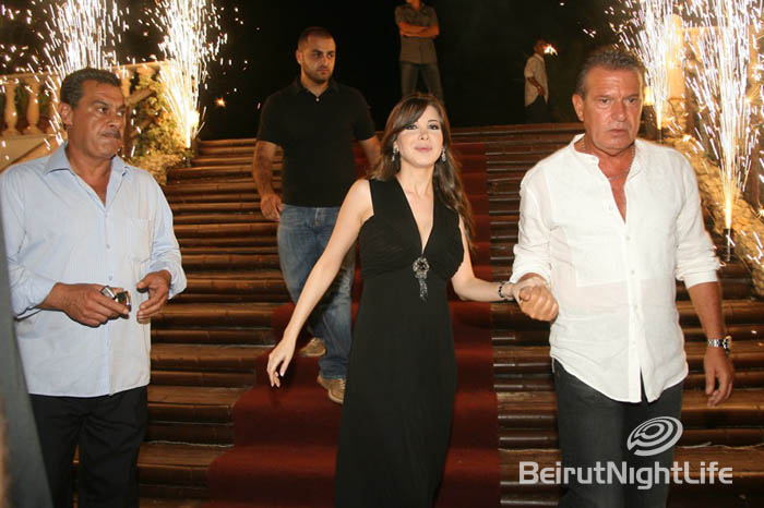 Nancy Ajram at Oscar Palace