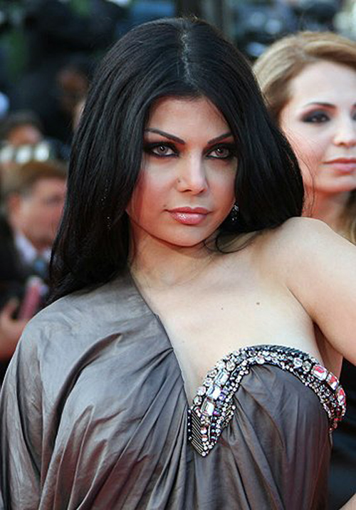 Haifa Wehbe Awarded in Alexandria