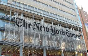 """New York Times, Out of """"Print""""?"""
