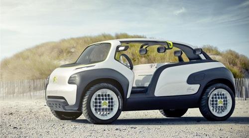 Citroen New Concept Shoes Car