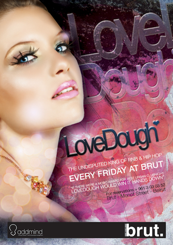 LoveDough with DJ Troopa at Brut