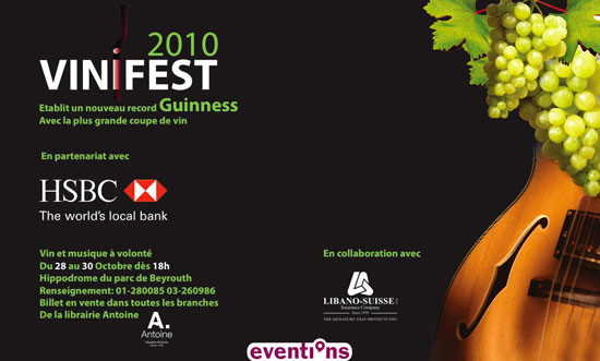 """Vinifest 2010"" – The Lebanese wine festival"