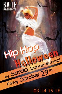 HIP HOP HALLLOWEEN……BY SARAB DANCE SCHOOL