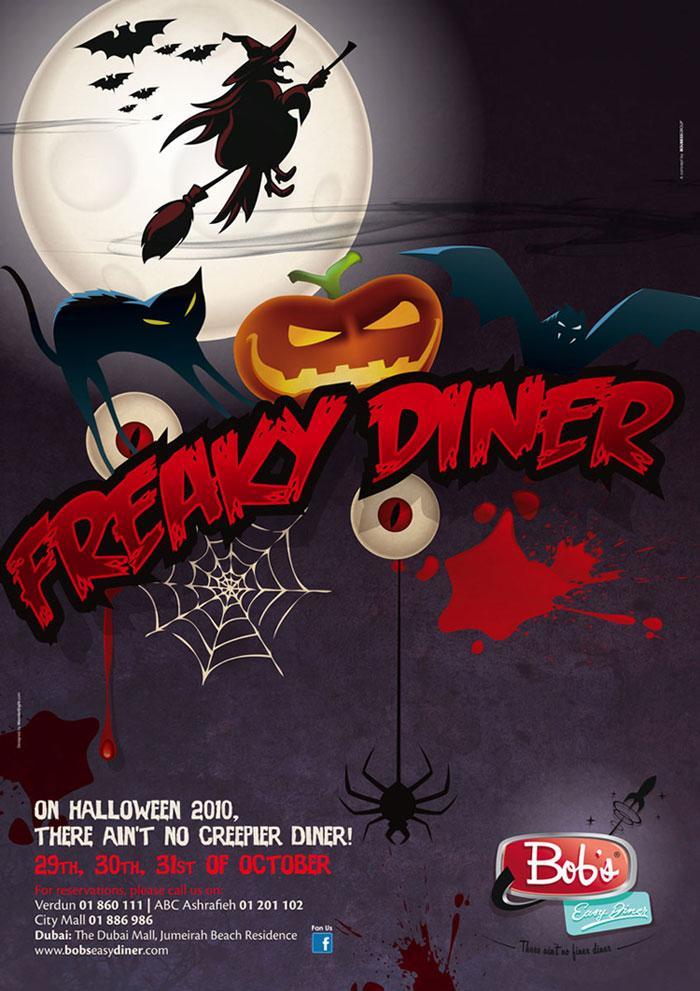 Freaky Diner at Bob's