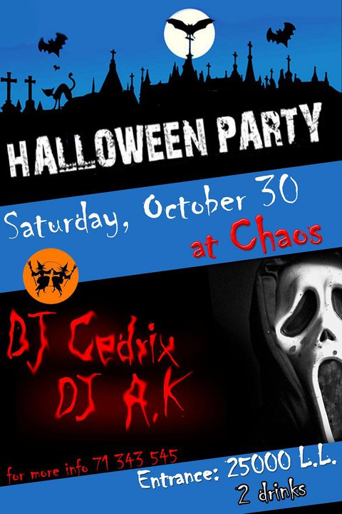HALLOWEEN – R&B PARTY At CHAOS