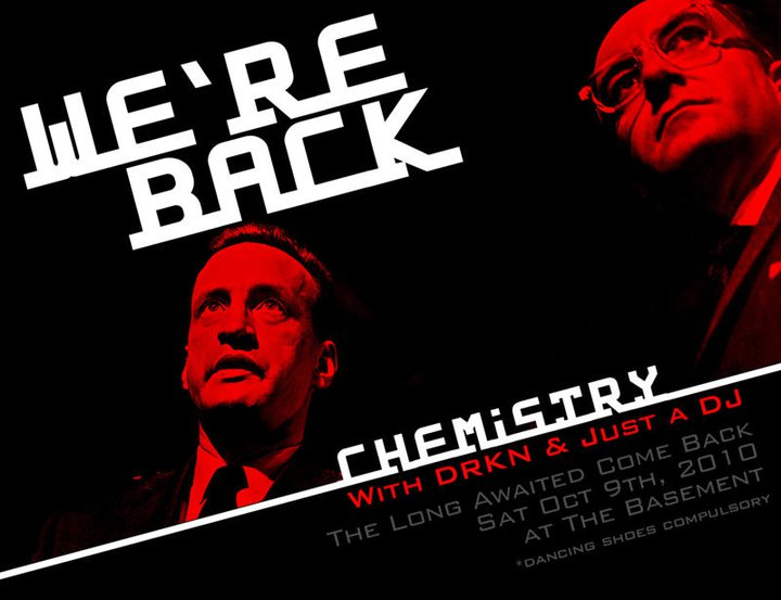 CHEMISTRY – the long awaited come back
