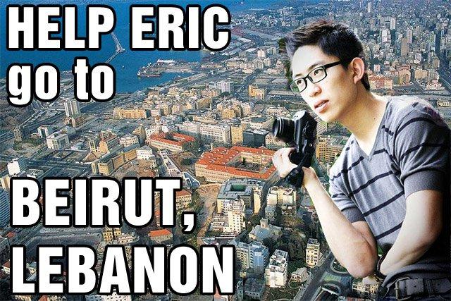 Beirut Street Photography with Eric Kim