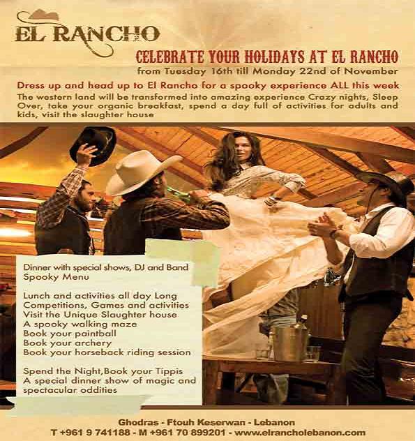 Celebrate Your Holidays At El Rancho