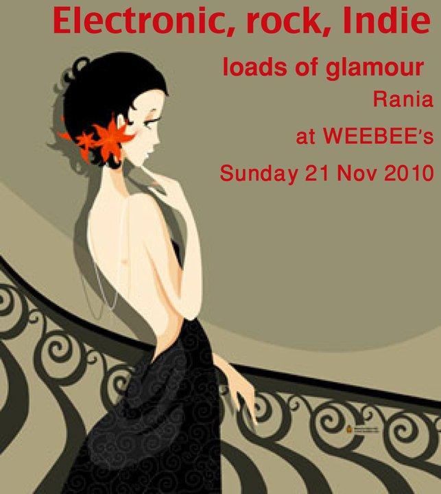 Glamuotronic Sundays At Weebee's
