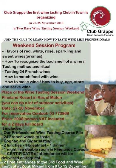Wine Tasting Weekend Seminar At Pineland Resort
