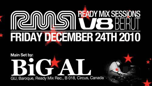 The Ready Mix Sessions Christmas Ever at B018 With BiG AL