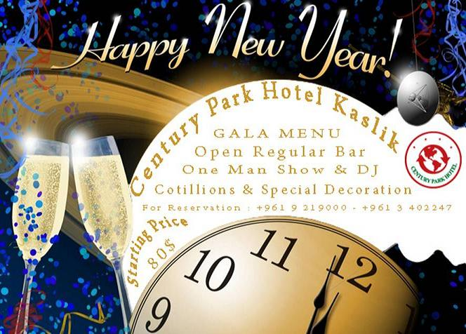 New Year's Eve At Century Park Hotel