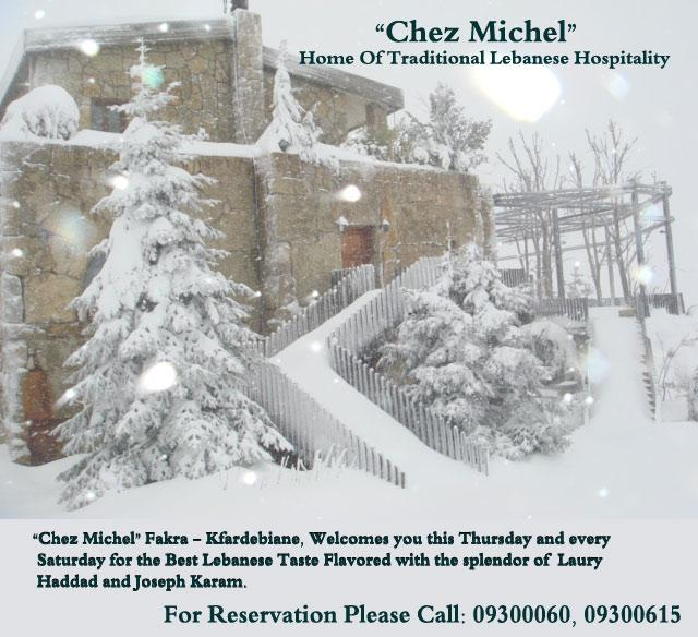 Chez Michel Home Of Traditional Lebanese Hospitality