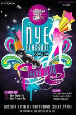 Dani K Vibes Present Blackout 2010 New Year's Eve At Faqra club