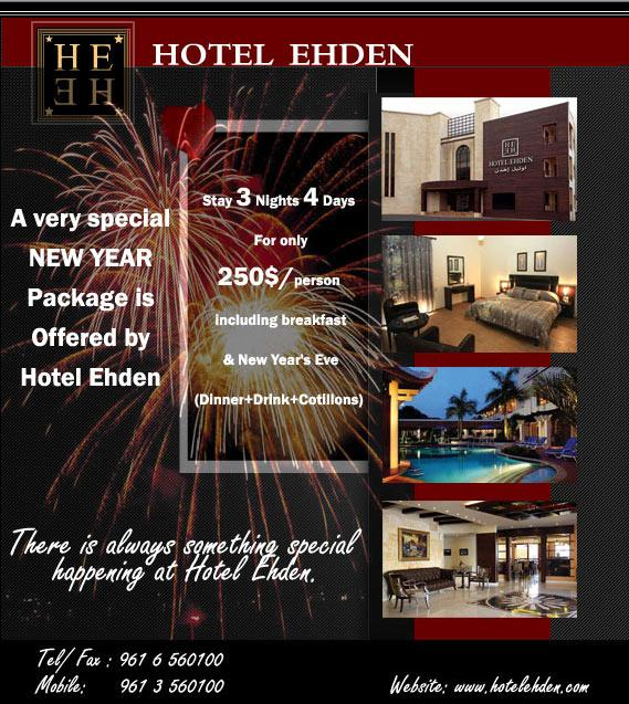 New Year's Eve At Hotel Ehden