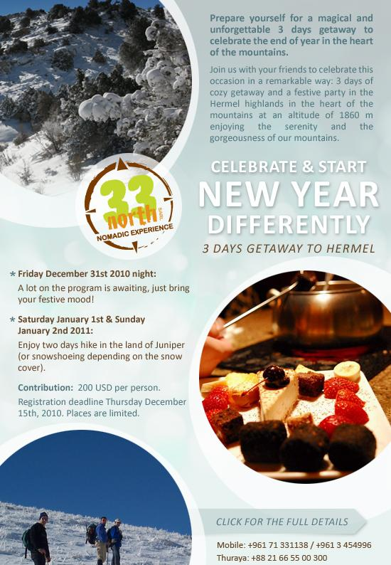 Celebrate And Start New Year Differently 3 Days Getaway To Hermel