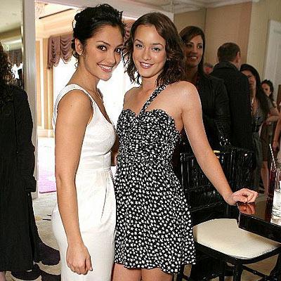 Leighton Meester & Minka Kelly are Roommates