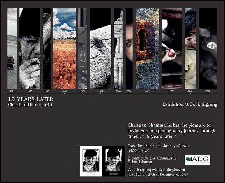 Exhibition And Book Signing Of 19 Years Later By Christian Ghammachi