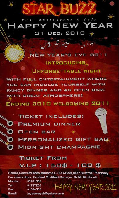 New Year's Eve At Star Buzz