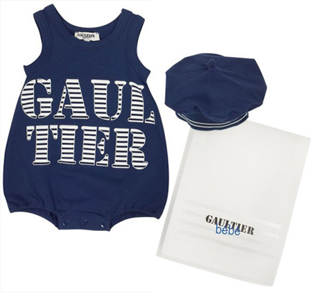 Gaultier Designs for Babies