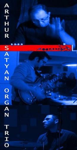 Arthur Satyan Organ Trio Live At Akros Lounge