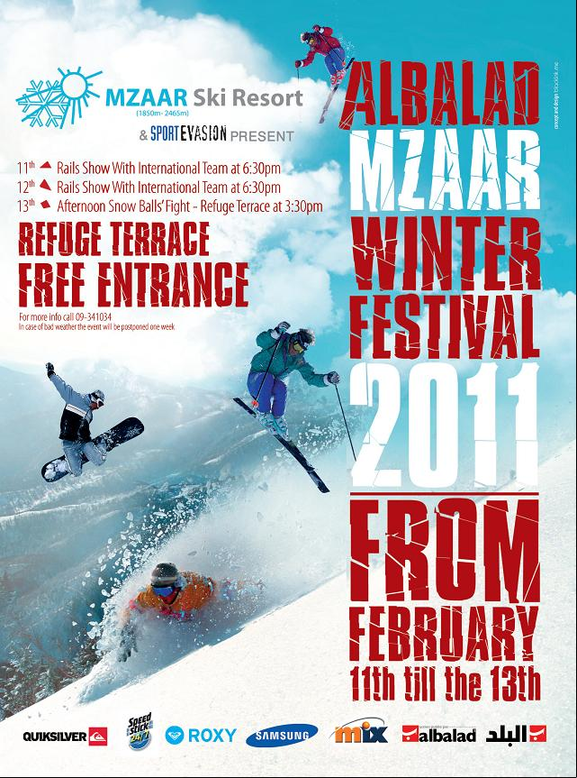 Albalad Mzaar Winter Festival 2011