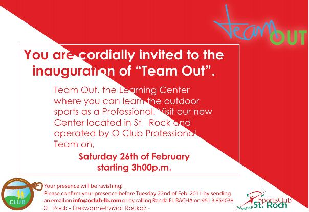 Inauguration Of Team Out