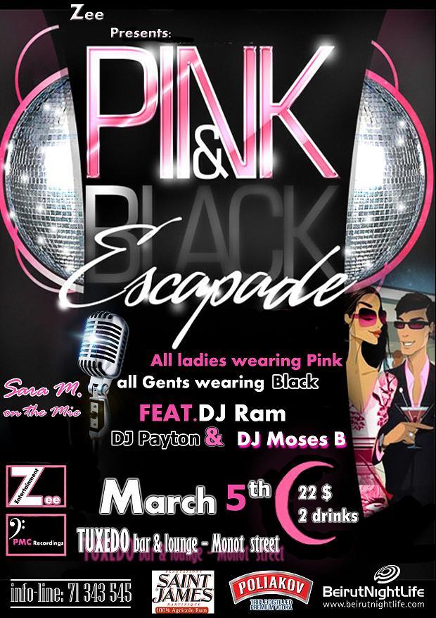 Pink And Black Escapade