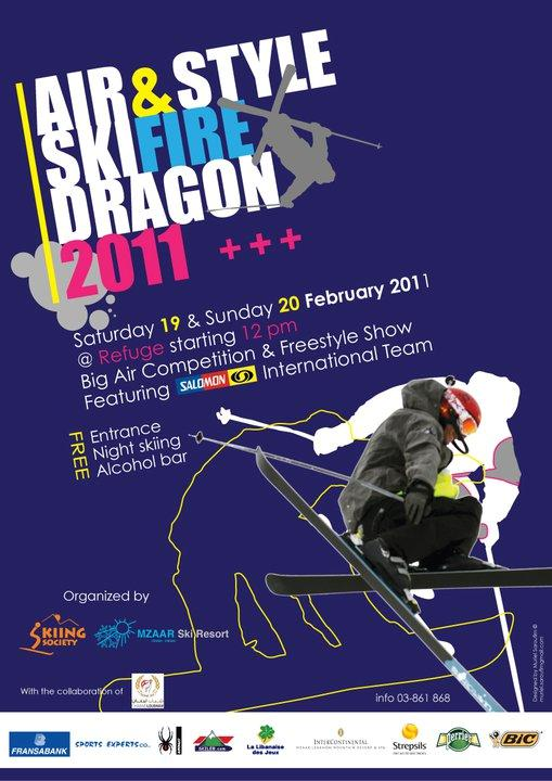 Air And Style Ski Fire Dragon 2011 At Refuge Slope