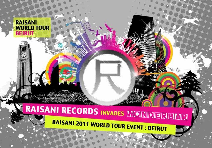 Raisani Records World Tour At WonderBar
