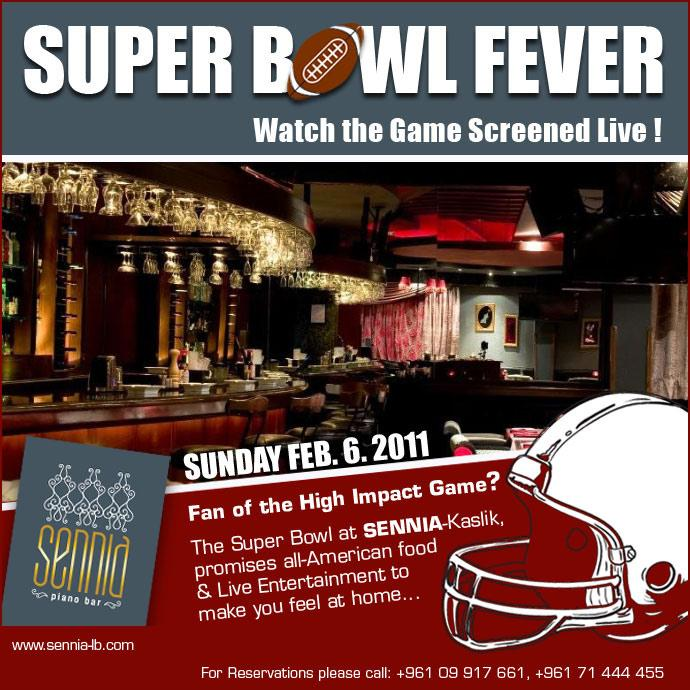 Watch The Super Bowl Live At Sennia
