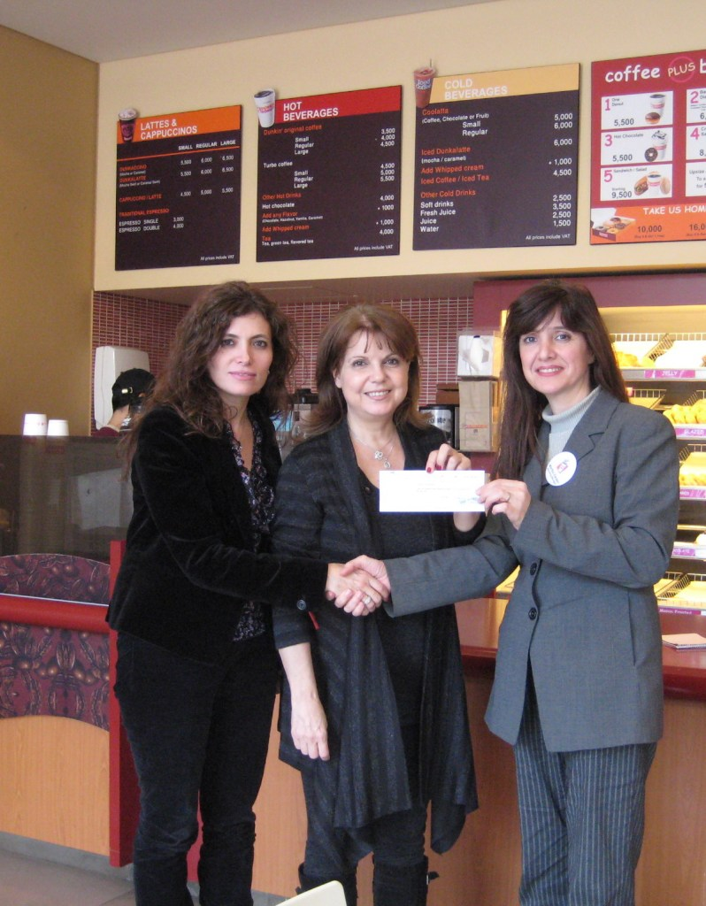 Dunkin' Donuts Lebanon Partners with CHANCE – Fight Children's Cancer