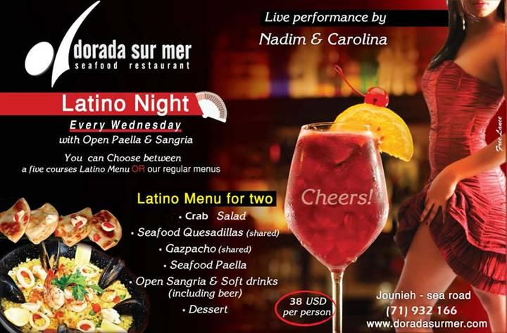 Latino Night At Dorada Sur Mer