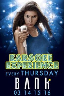 Karaoke Experience At Bank