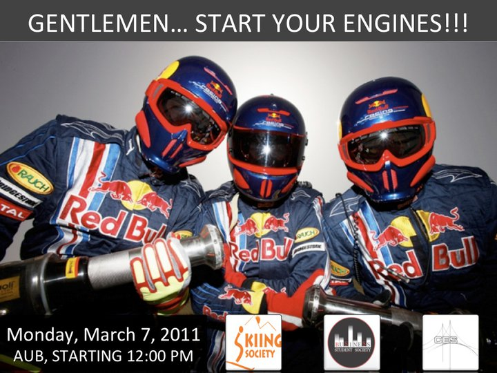 Red Bull Pit Stop Event At AUB