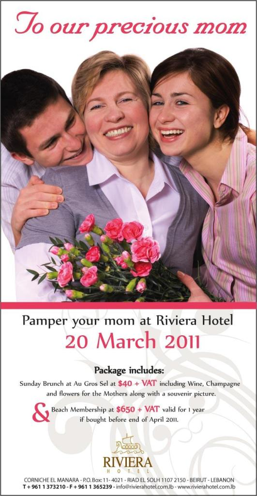 Pamper Your Mom At Riviera Hotel