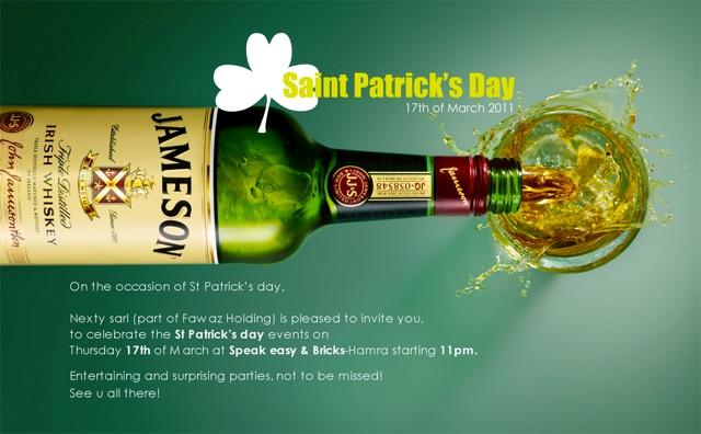 Jameson Saint Patrick's Day