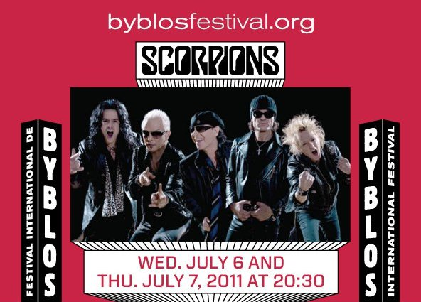 Scorpions At Byblos International Festival