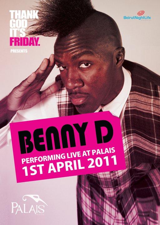 Beny D Akon's Official Dj Live At Palais